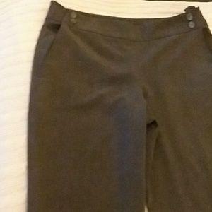 Grey trouser pants